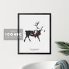 Yellowknife Caribou Print