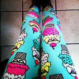 Ice Cream- CHILDREN'S Leggings