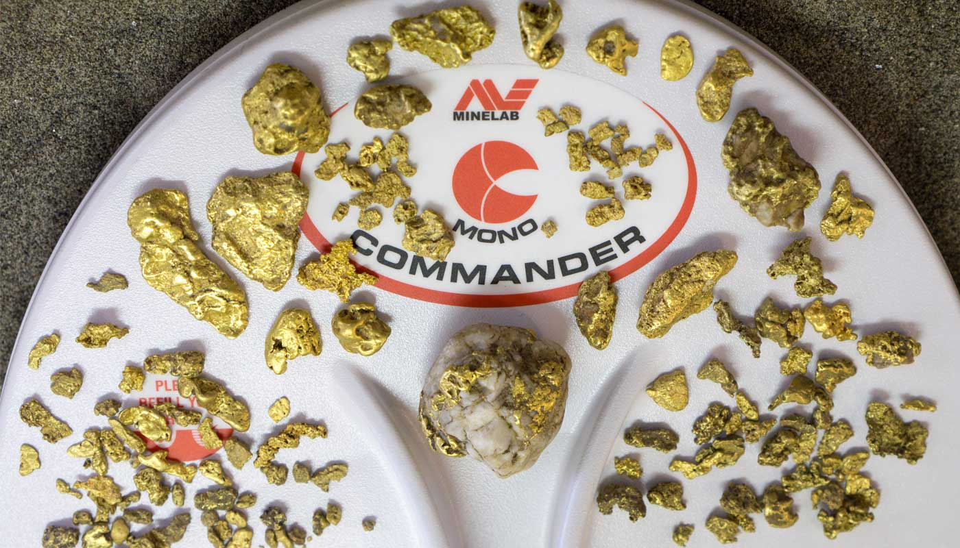 gold nuggets found with Minelab GPX-GPZ metal detectors