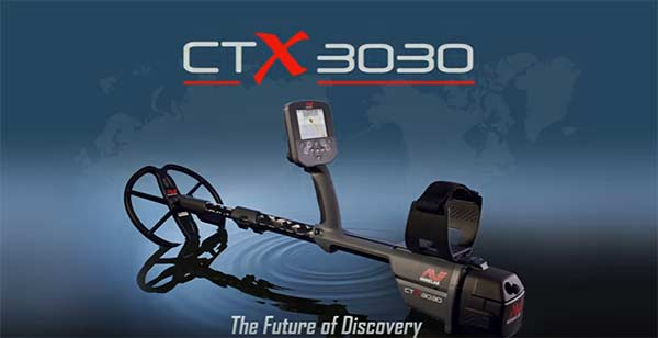 Minelab ctx 3030 video