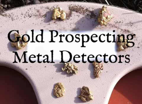 Gold nuggets found in Oregon with a metal detector