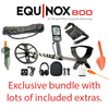 Minelab equinox 800 package now in stock at belda's metal detectors