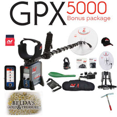 Minelab GPX 5000 Gold Metal Detector for the deep targets