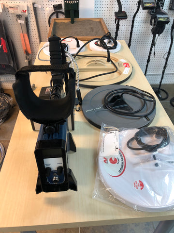 Minelab GPX 5000 package special preowned LOTS OF EXTRAS!