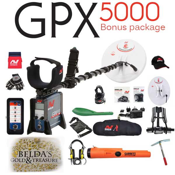 Minelab GPX 5000 Down payment