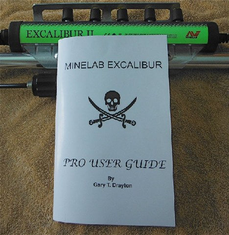 Books - Gary Drayton Minelab Excalibur Pro User Guide