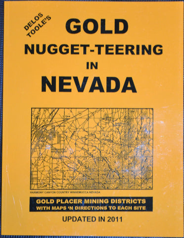 Books - Gold Nugget-teering In Nevada By Delo's Toole's