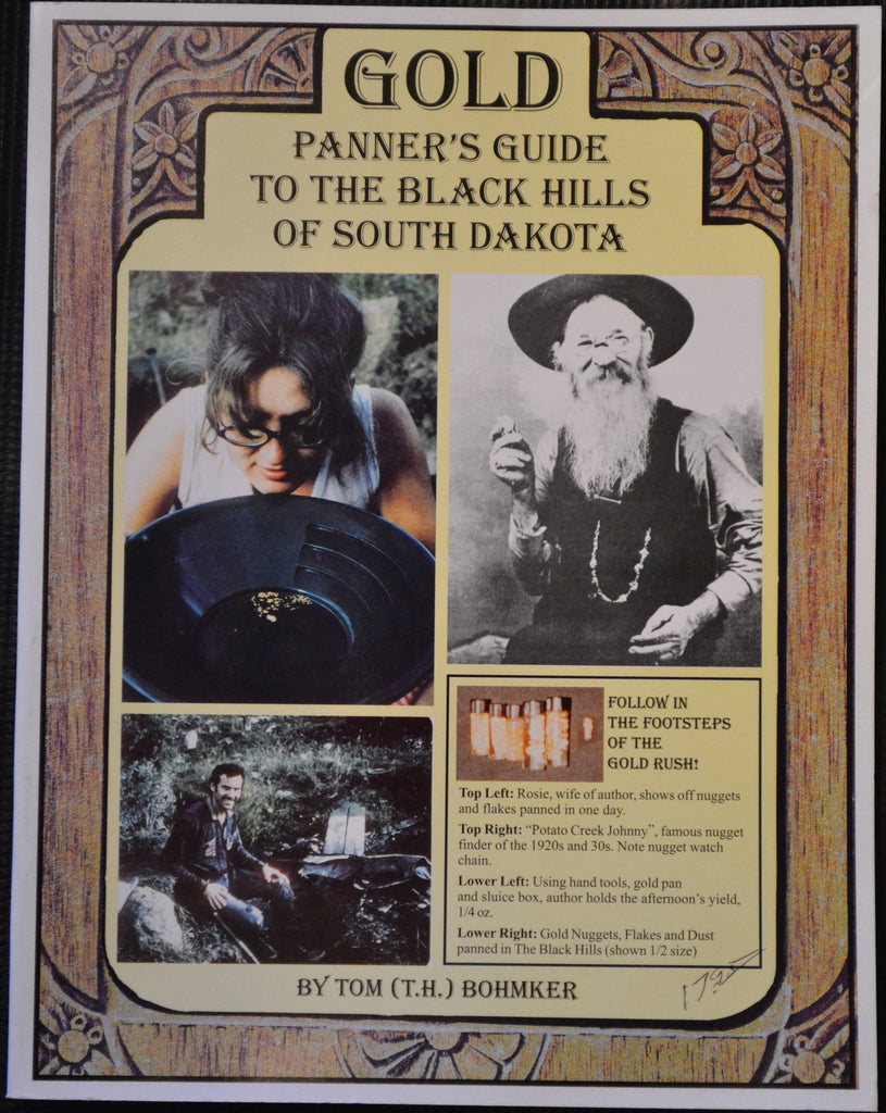 Books - Gold Panner's Guide To The Black Hills Of South Dakota By Tom (T.H.) Bohmker