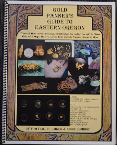 Books - Gold Panners Guide To Eastern Oregon By Tom (T.H.) Bohmker & Eddie Humbird