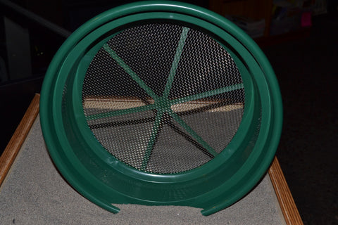 "Classifier - Gold Panning Classifier 1/8""/-1/100"", Metal Screen"