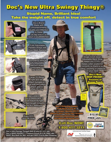 Docs Ultra Swingy Thingy Metal Detecting Harness