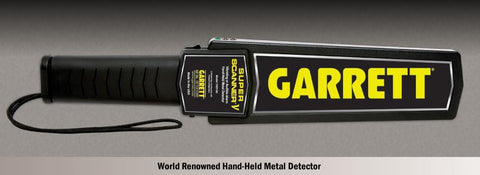 Garrett Super Scanner V Hand-held Security Metal Detector