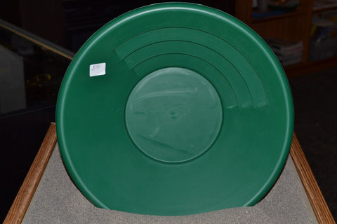 "Gold Pan - Garrett Gold Pans, 14"" Green Pan"