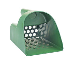 Green Plastic Sand Scoop