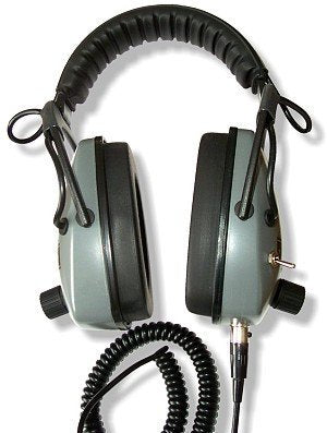 Headphones - Gray Ghost DMC Headphones For Minelab CTX 3030