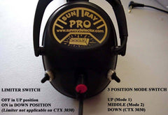Headphones - Sunray Pro Gold Headphones (CTX 3030)