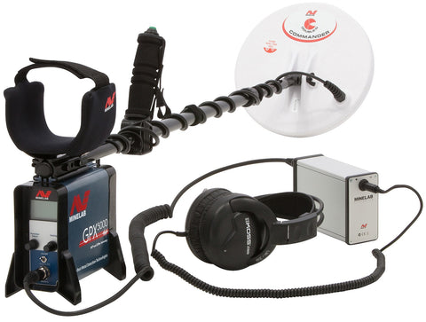 Metal Detectors - Minelab GPX 5000 Gold Detector With Pro Pack Package