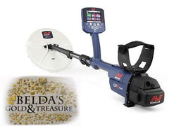 Minelab GPZ 7000 Metal Detector with gold nuggets