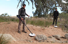 Detecting in the the gold fields with the Minelab GPZ 7000