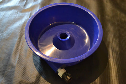 Pan - Blue Bowl Concentrator--Gold Clean Up Equipment