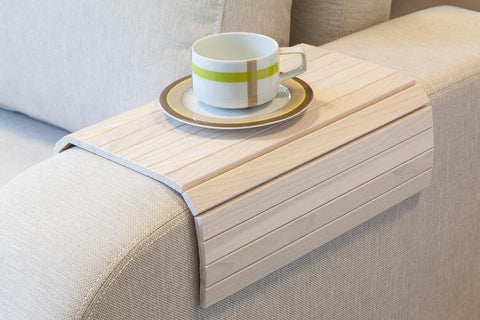Sofa tray table white