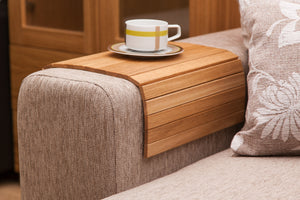 SOFA TRAY TABLE natural oak