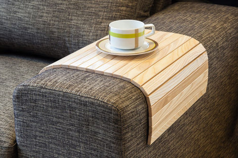 sofa tray table natural