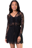 Sweet Nothings Black Lace Dress, dress - Armed & Mirrored