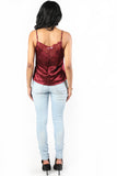 Currently Unavailable Satin Cami Top, Tops - Armed & Mirrored
