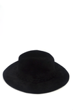 The Cover Up Fedora - Black, Hats - Armed & Mirrored