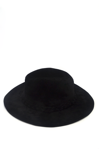 The Cover Up Fedora - Black