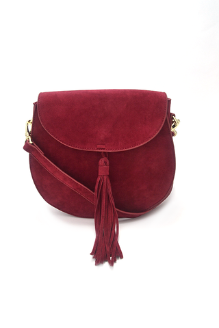 Too Obvious Crossbody Bag - Burgundy