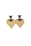 Sienna Aztec Earrings, Earrings - Armed & Mirrored