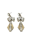 One Night Only Drop Earrings, Earrings - Armed & Mirrored