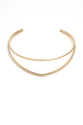 Madison Collar Necklace - Gold