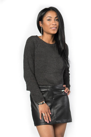 Solace Crop Sweater