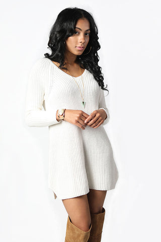 So Into You Sweater Dress