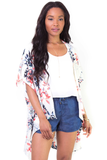 Flying High Floral Kimono, Jackets + Vests - Armed & Mirrored