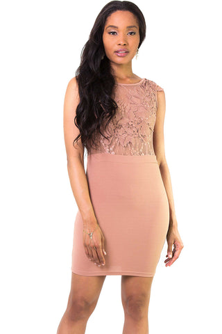 Short Notice Bodycon Mini Dress