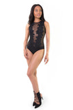 Heartbreaker Mesh Bodysuit, Tops - Armed & Mirrored