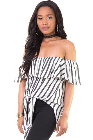 Sometimes In Love Off Shoulder Top