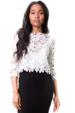 Heatwave Lace Top, Tops - Armed & Mirrored