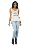Truthfully Speaking Graphic Tank, Tops - Armed & Mirrored