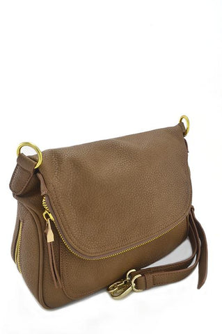 Midtown Zipper Shoulder Bag