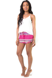 Playtime Is Over Ruffle Shorts, Shorts - Armed & Mirrored