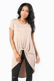 Settle It Now Twist Knot Top, Tops - Armed & Mirrored