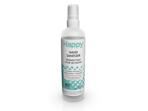 Happy Hand Sanitizer Spray - Unscented 250ml