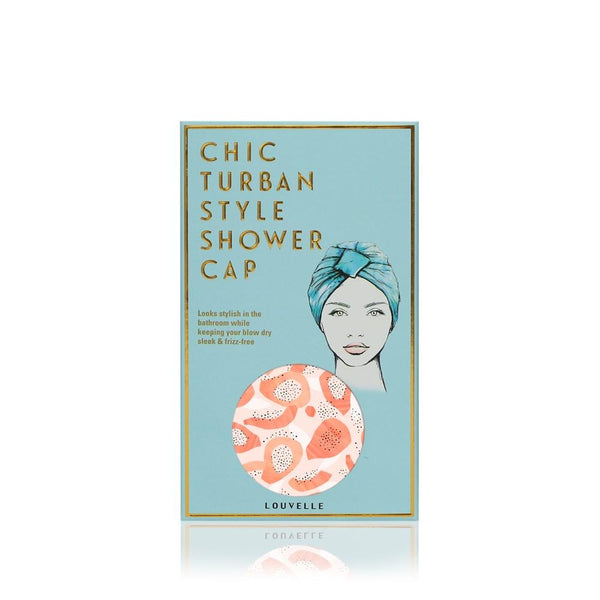 LOUVELLE Amelie Shower Cap Peach Papaya