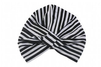 LOUVELLE Amelie Shower Cap Monochrome Stripe