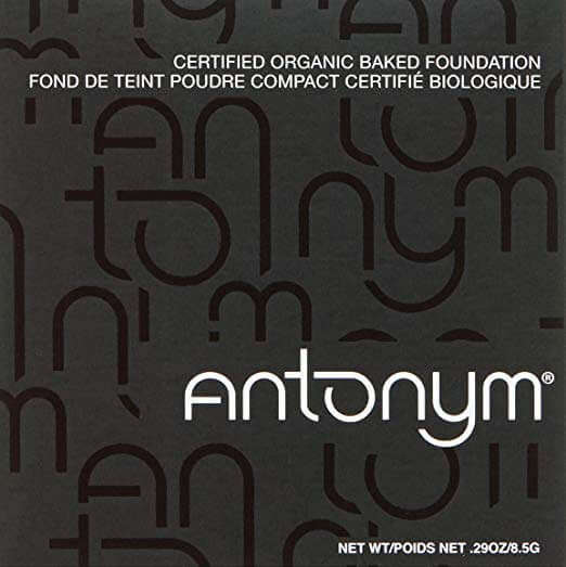 Antonym Cosmetics Organic Baked Foundation Medium Beige